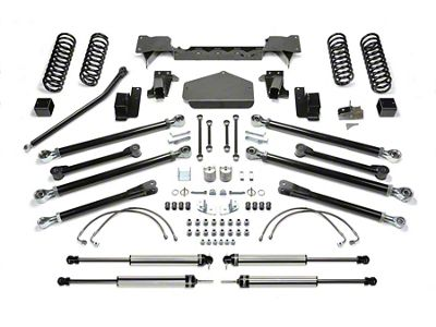 Fabtech 3 in. Crawler Lift System w/ Shocks (07-18 Jeep Wrangler JK 4 Door)