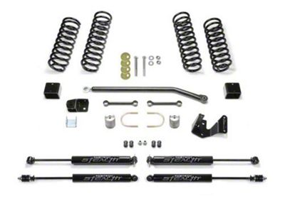 Fabtech 3 in. Sport II Lift System w/ Shocks (07-18 Jeep Wrangler JK 4 Door)