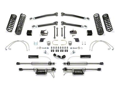 Fabtech 3 inch Trail Long Travel Lift System w/ Shocks (07-18 Jeep Wrangler JK 4 Door)