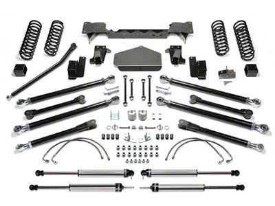 Fabtech 3 in. Crawler Lift System w/ Shocks (07-18 Jeep Wrangler JK 2 Door)