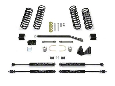 Fabtech 3 in. Sport II Lift System w/ Shocks (07-18 Jeep Wrangler JK 2 Door)