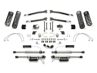 Fabtech 3 inch Trail Long Travel Lift System w/ Shocks (07-18 Jeep Wrangler JK 2 Door)