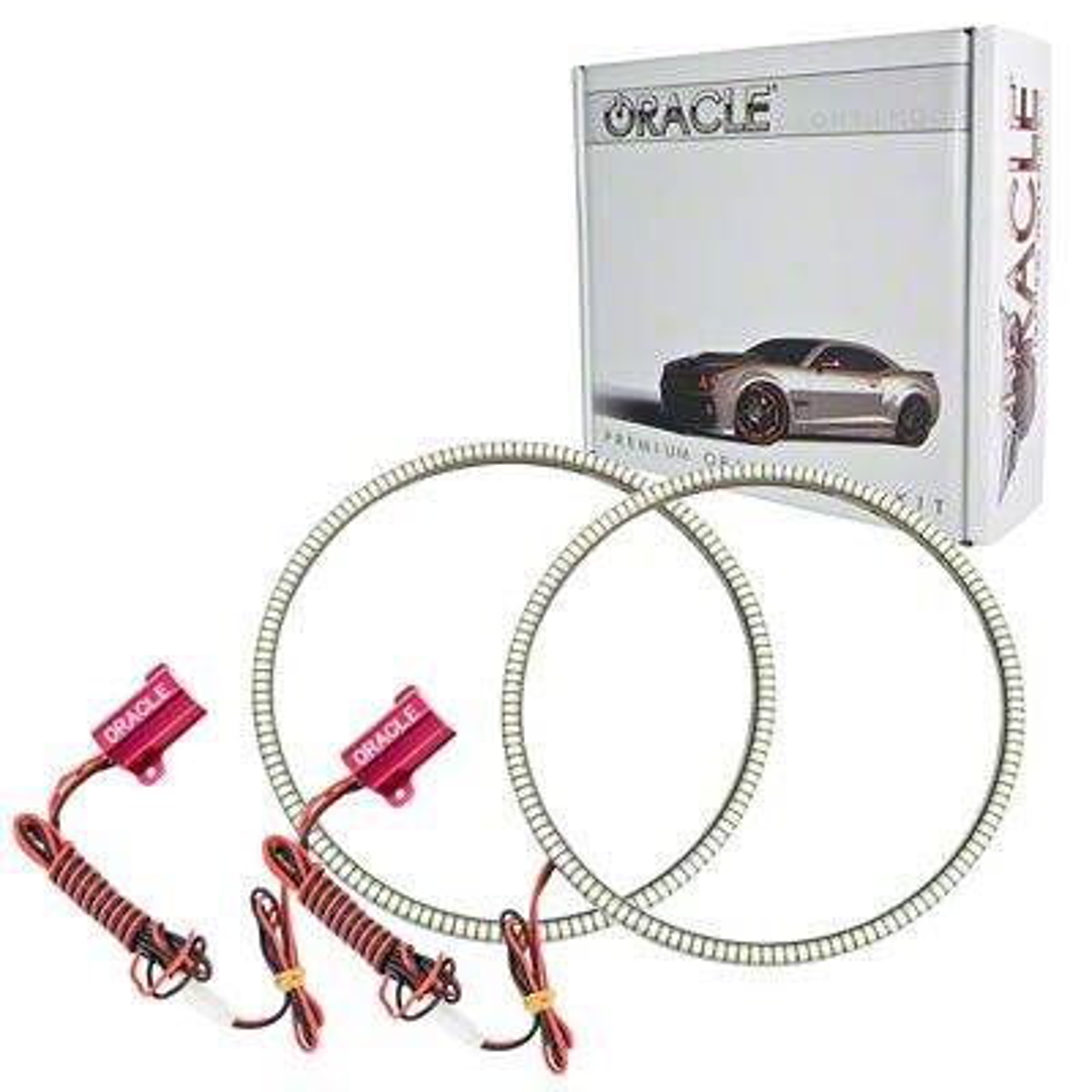 Oracle LED Waterproof Headlight Halo Conversion Kit - Blue (07-18 Jeep Wrangler JK)