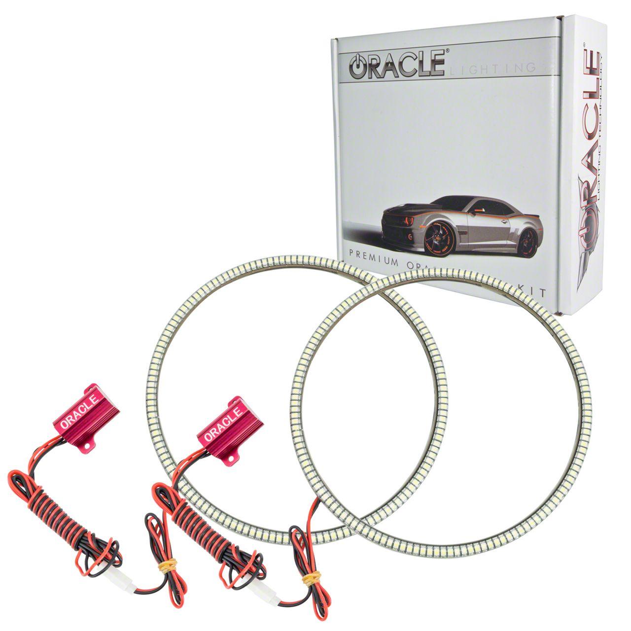 Oracle LED Waterproof Headlight Halo Conversion Kit - Red (07-18 Jeep Wrangler JK)