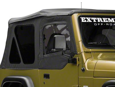 Rugged Ridge Replacement Door Skins - Black Diamond (97-06 Jeep Wrangler TJ)