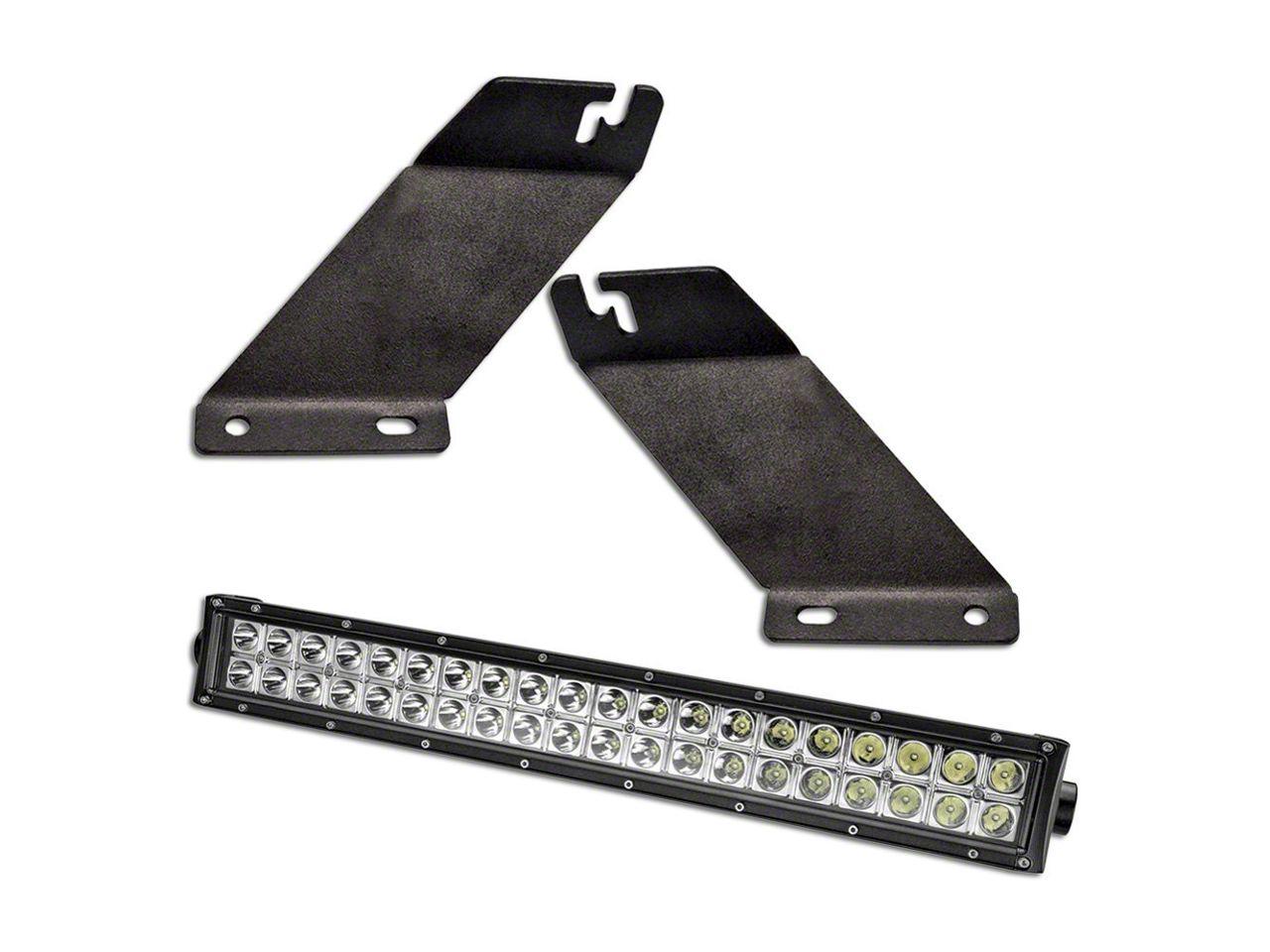 Oracle 22 in. LED Light Bar w/ Hood Mounting Brackets (07-18 Jeep Wrangler JK)