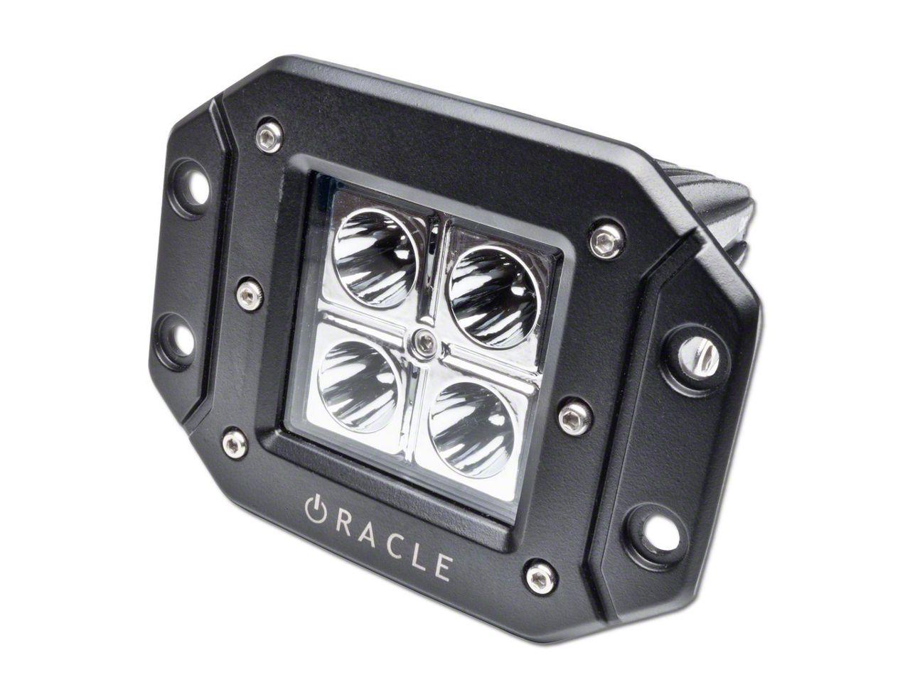 Oracle Off-Road Series Square Flush Mount LED Light - Spot Beam