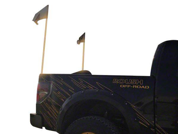 Oracle Off-Road 4 ft. LED Whip - Amber (87-18 Jeep Wrangler YJ, TJ, JK & JL)