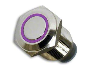 Oracle On/Off Flush Mount LED Switch - UV/Purple (87-18 Jeep Wrangler YJ, TJ, JK & JL)