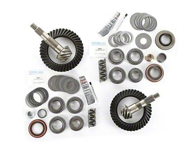 Alloy USA Dana 30F/35R Ring Gear and Pinion Kit w/ Master Overhaul Kit - 4.56 Gears (97-06 Jeep Wrangler TJ)