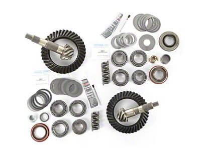 Alloy USA Dana 30F/35R Ring Gear and Pinion Kit w/ Master Overhaul Kit - 4.88 Gears (97-06 Jeep Wrangler TJ)