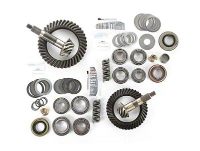 Alloy USA Dana 30F/44R Ring Gear and Pinion Kit w/ Master Overhaul Kit - 4.10 Gears (97-06 Jeep Wrangler TJ)