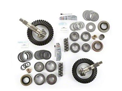 Alloy USA Dana 30F/44R Ring Gear and Pinion Kit w/ Master Overhaul Kit - 4.56 Gears (97-06 Jeep Wrangler TJ)