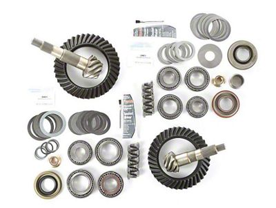 Alloy USA Dana 30F/44R Ring Gear and Pinion Kit w/ Master Overhaul Kit - 4.88 Gears (97-06 Jeep Wrangler TJ)