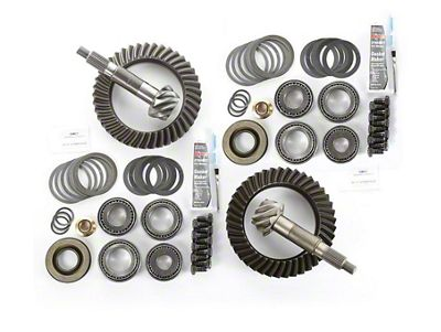 Alloy USA Dana 44F/44R Ring Gear and Pinion Kit w/ Master Overhaul Kit - 5.13 Gears (97-06 Jeep Wrangler TJ)