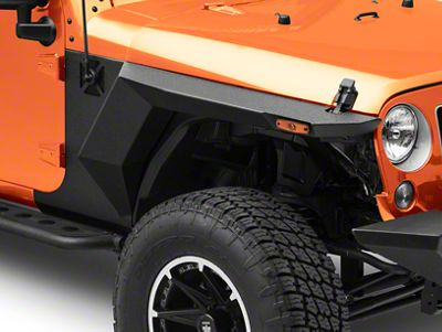 Rugged Ridge XHD Armor Fenders & Liner Kit (07-18 Jeep Wrangler JK 4 Door)