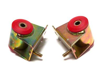 Rugged Ridge Polyurethane Engine Mounts - Red (91-98 4.0L Jeep Wrangler YJ & TJ)