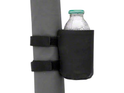Smittybilt Roll Bar Mount - Drink Holder - Black