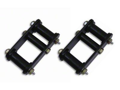 Rugged Ridge 1 in. HD Front Leaf Spring Lift Shackles (87-95 Jeep Wrangler YJ)