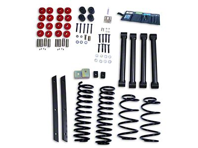 Rugged Ridge 2 in. Lift Kit w/o Shocks (03-06 Jeep Wrangler TJ, Excluding Unlimited)