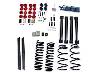 Rugged Ridge 2 in. Lift Kit w/o Shocks (04-06 Jeep Wrangler TJ Unlimited)