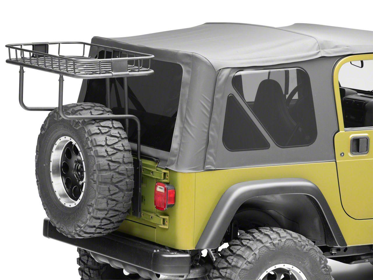 Rugged Ridge Load Easy Trail Rack (87-02 Jeep Wrangler YJ & TJ)
