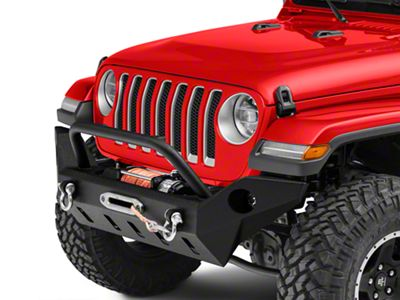 Barricade Extreme HD Full Width Front Bumper w/ LED Fog Lights (18-19 Jeep Wrangler JL)