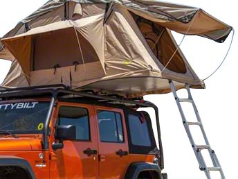 Smittybilt Overlander Roof Top Tent Ladder Extension