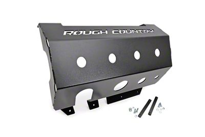 Rough Country Muffler Skid Plate (07-18 Jeep Wrangler JK)