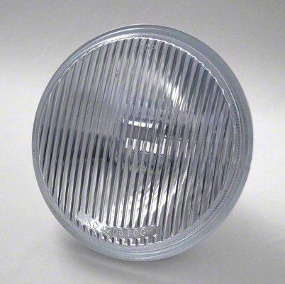 KC HiLiTES 6 in. Replacement Slimlite Lens/Reflector - Fog Beam (87-18 Jeep Wrangler YJ, TJ, JK & JL)