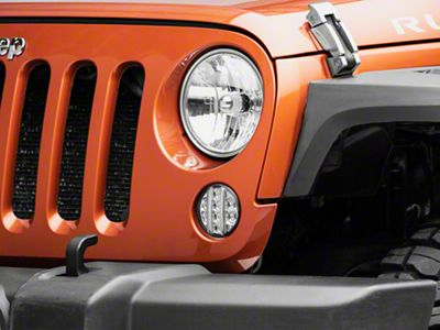 Axial Clear LED Front Turn Signals (07-18 Jeep Wrangler JK)