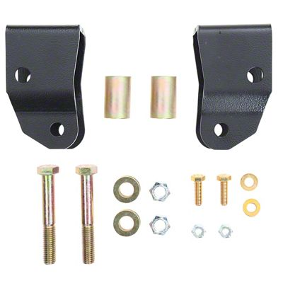 Rubicon Express Front Shock Extension for 2 in. Lift (18-19 Jeep Wrangler JL)