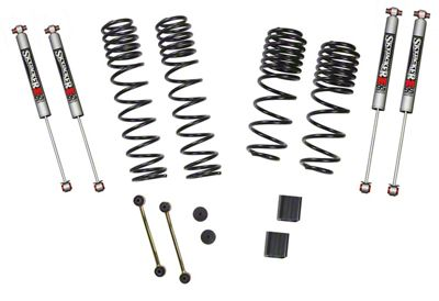 SkyJacker 1-1.5 in. Dual Rate Long Travel Suspension Lift Kit w/ M95 Shocks (18-19 Jeep Wrangler JL 4 Door, Excluding Rubicon)