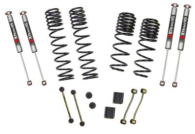 SkyJacker 2-2.5 in. Dual Rate Long Travel Suspension Lift Kit w/ M95 Shocks (2018 Jeep Wrangler JL Rubicon 4 Door)