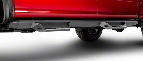 N-Fab Predator Pro Nerf Side Step Bars - Textured Black (07-18 Jeep Wrangler JK 4 Door)