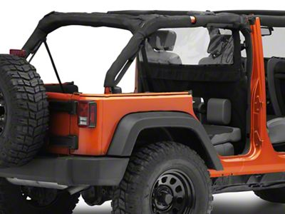 Rugged Ridge Windbreaker (07-18 Jeep Wrangler JK)