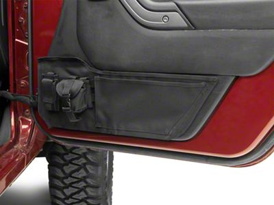 Rugged Ridge Front Door Storage Panels (11-18 Jeep Wrangler JK)