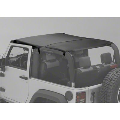 Rugged Ridge Montana Pocket Island Topper - Black Diamond (07-18 Jeep Wrangler JK 2 Door)