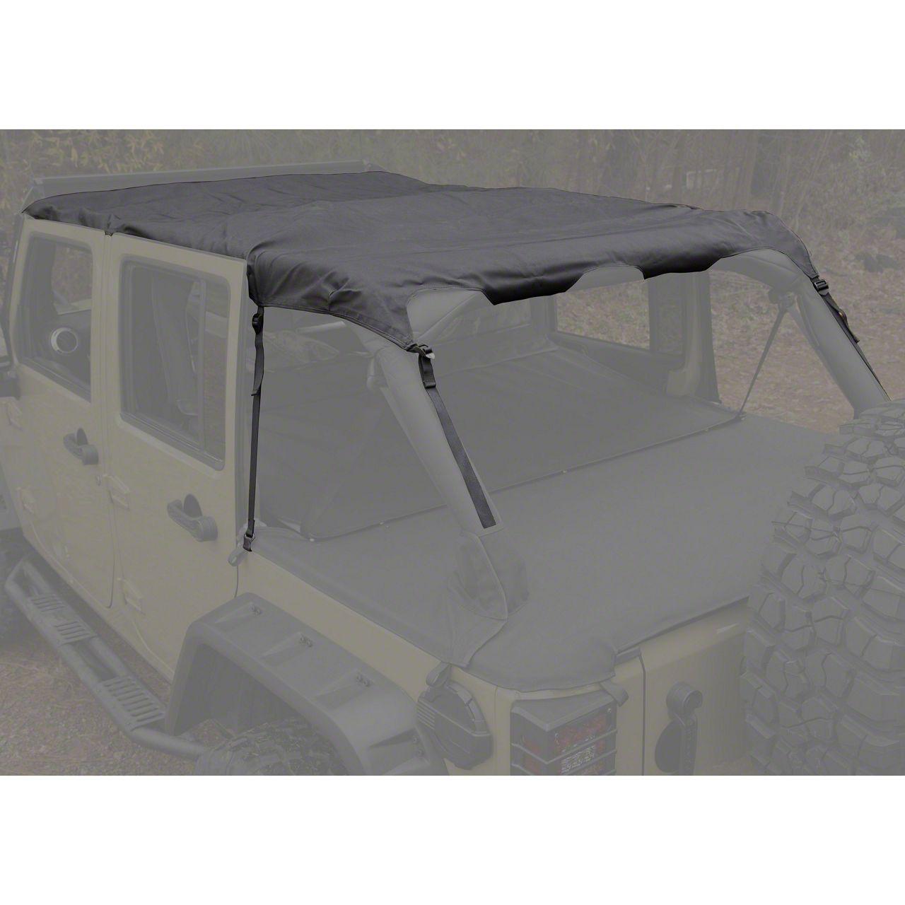Rugged Ridge Montana Pocket Island Topper - Black Diamond (07-18 Jeep Wrangler JK 4 Door)