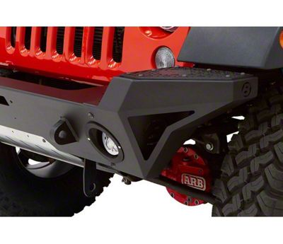 Bestop End Cap Kit for HighRock 4x4 Modular Front Bumper (07-18 Jeep Wrangler JK)