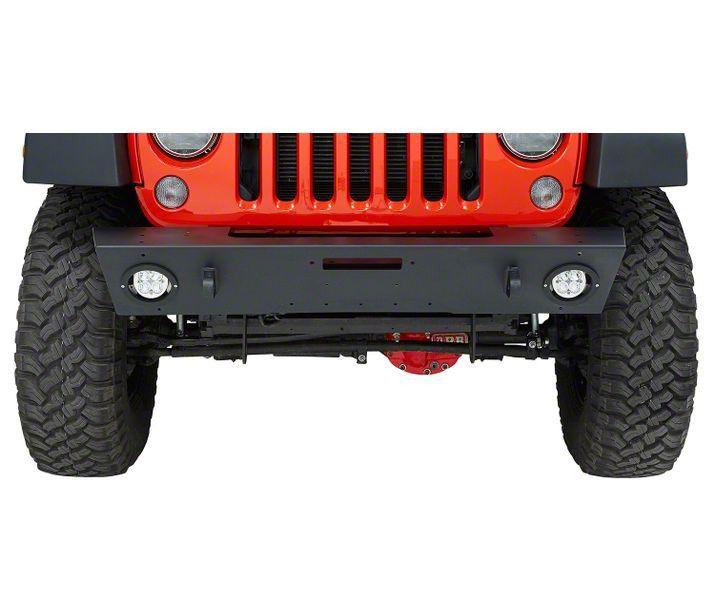 Bestop HighRock 4x4 Modular Front Bumper - Matte Black (07-18 Jeep Wrangler JK)
