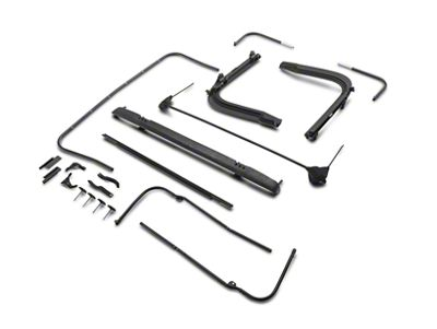 Bestop OE Style Replacement Bows & Frames (97-06 Jeep Wrangler TJ)