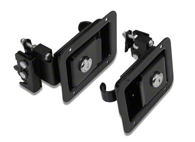 Bestop Paddle-Style Door Handle Latches (97-06 Jeep Wrangler TJ)