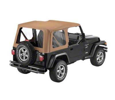 Bestop Sailcloth Replace-a-Top - Spice (97-02 Jeep Wrangler TJ)