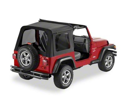 Bestop Sunrider Complete Replacement Soft Top (03-06 Jeep Wrangler TJ, Excluding Unlimited)