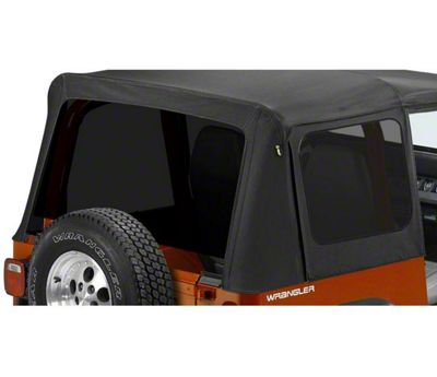 Bestop Tinted Replacement Window Set for Replace-A-Top (88-95 Jeep Wrangler YJ)