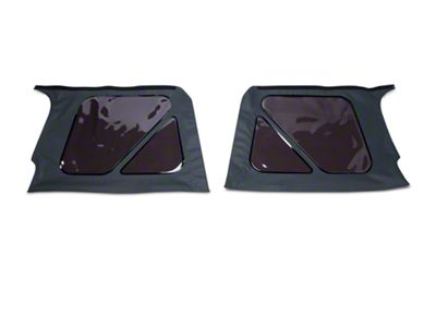 Bestop Tinted Replacement Window Set for Replace-A-Top - Black Denim (97-02 Jeep Wrangler TJ)