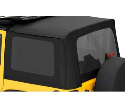 Bestop Tinted Replacement Window Set for Sailcloth Replace-a-Top (07-10 Jeep Wrangler JK 4 Door)