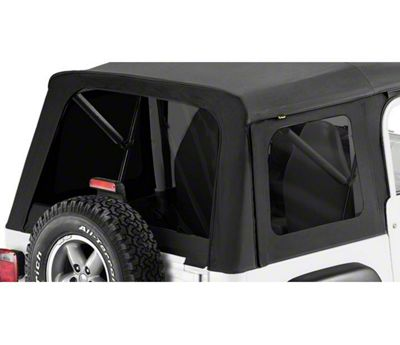 Bestop Tinted Replacement Window Set for Supertop Classic (87-95 Jeep Wrangler YJ)