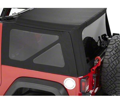 Bestop Tinted Replacement Window Set for Supertop NX or Replace-a-Top (07-18 Jeep Wrangler JK 2 Door)